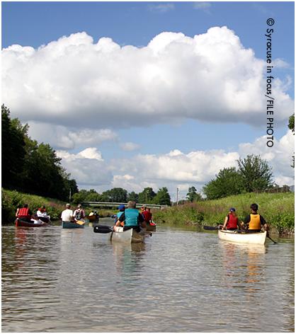 Canoe Tour of Onondaga Creek (near Dorwin Ave)