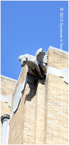 Gargoyle, Hills Building (Downtown Syracuse)