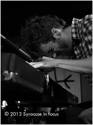 Ben Thornewill, singer and keyboard player for Jukebox the Ghost