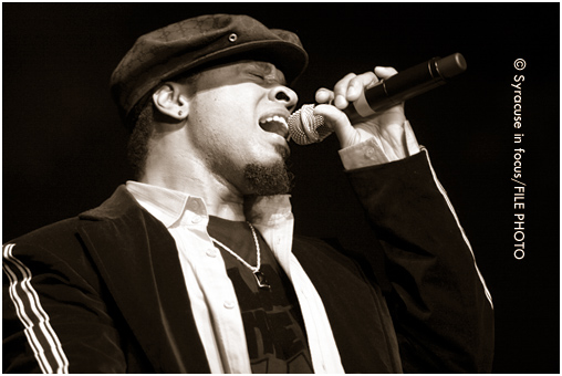 Stokley Williams, singer for the band Mint Condition, visited Syracuse in 2006 as part of the Tom Joyner Morning Show.