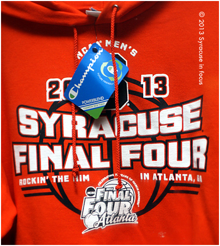 Syracuse University Men's Basketball--2013 Final Four