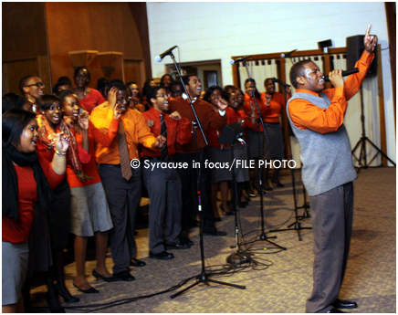 The Black Celestial Choral Ensemble of Syracuse celebrates their 36th Year with a concert this weekend.