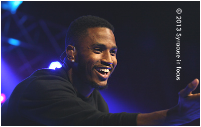 Neo Soul Man Trey Songz had the crowd eating out of his hands by the end of his nearly hour-long set.