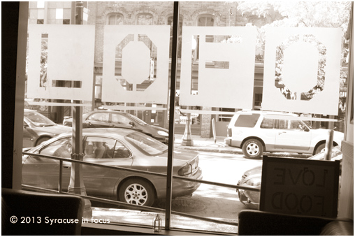 LOFO Cafe/Bistro: Inside Out