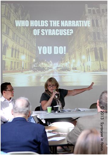 Marilyn Higgins, VP of Community Engagement and Economic Development for Syracuse University