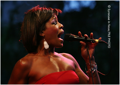 Nicole Henry sang at the Northeast Jazz & Wine Festival in 2009