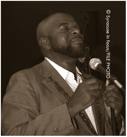 Omanii Abdullah, poet, businessman (performing at the former OnaJava Cafe)