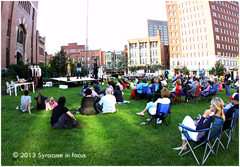 Open Air Theater in Armory Square
