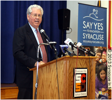 George Weiss, Founder, Say Yes to Education, Inc.