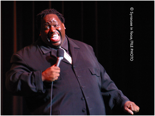 Comedian Bruce Bruce will return to Syracuse this weekend for a series of shows at the Funnybone.