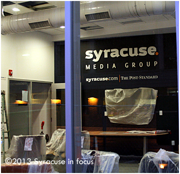 Syracuse Media Group Headquarters (under construction)