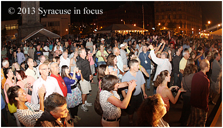 Atlas celebrated it's 33rd year by turning Clinton Square into on big Jungle Boogie to close the show Friday night.