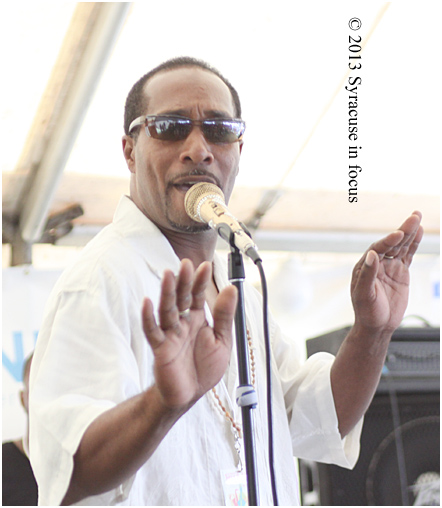 Eric Love Jones, lead vocalist, Trump Tight 315