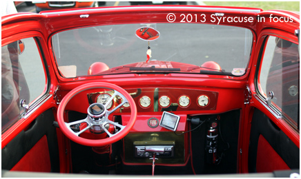 Convertible Fiat Interior