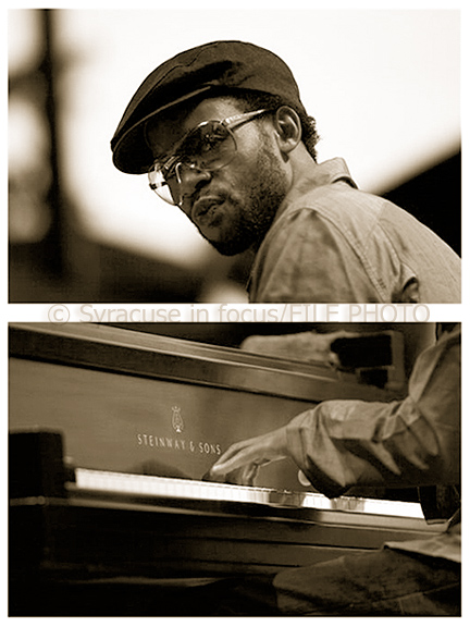 Marc Cary played the Jazz in the Square (now called the Northeast Jazz & Wine Festival) in Syracuse with Marcus Printup in 2005.