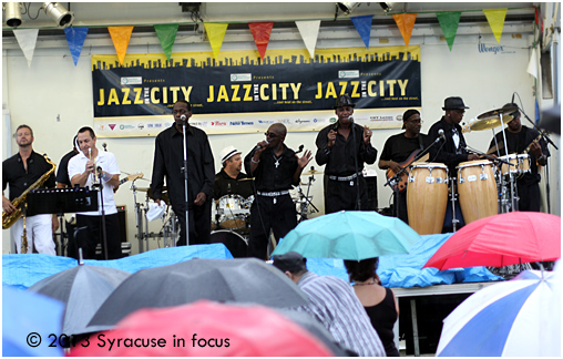 Outside in the Rain: The Blacklites