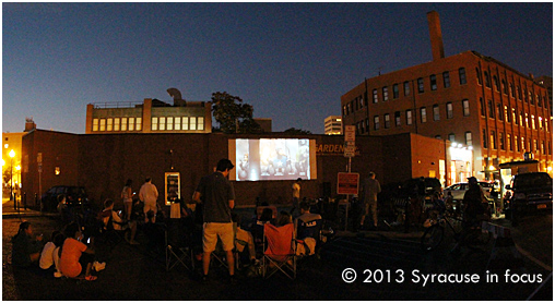 The Final Flick by the Crick for the season (Armory Square).