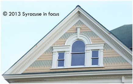 Babcock Shattuck House: A-Frame