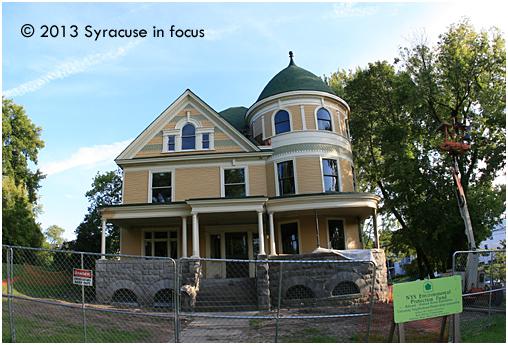 Babcock Shattuck House: In Progress