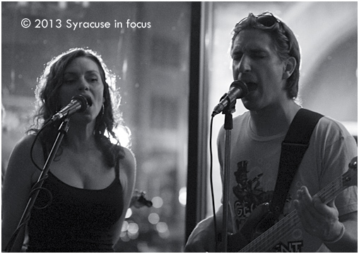 Erica Ann and Goose singing Brother, Sister by the Brand New Heavies