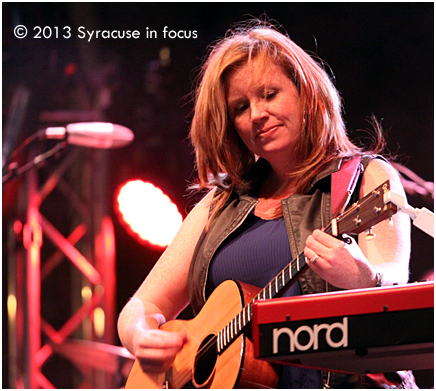 "Erin ""Do It All"" Searson, vocalist, keyboardist, composer, guitarist, dancer"
