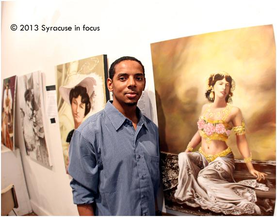 Kamiiron Pritchard, artist (Spark Art Space)