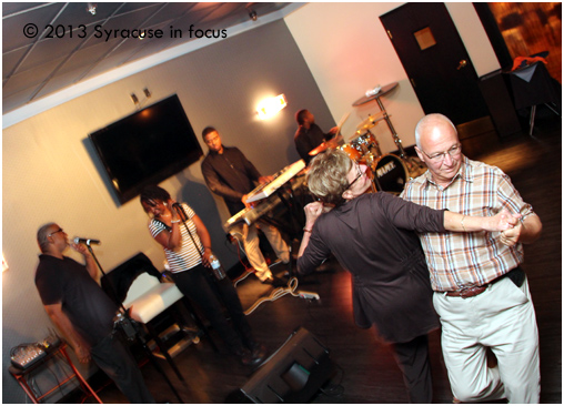 Mike and Sharon Colabufo danced to the sounds of Mike and Anjela at the Sitrus Lounge on Friday.