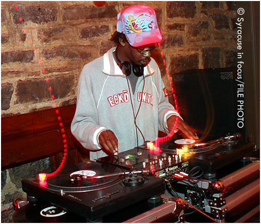 DJ Afar (during a Chinese New Year Celebration in the 2000s)