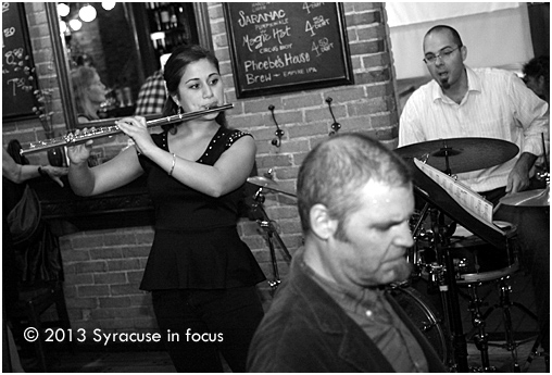 Stephanie Mata (flutist) along with Dekaney and Nanni, Live at Phoebe's.