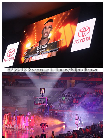 2013 Midnight Madness in the Dome (photo by Nijah Brown)
