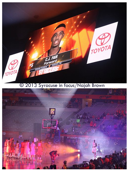 2013 Midnight Madness in the Dome (photo by Najah Brown)