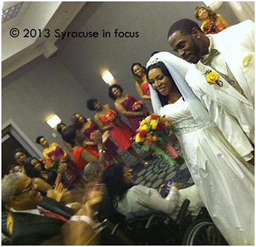 Mr. and Mrs. Roy Brown (Rashida Shabazz): Just Married