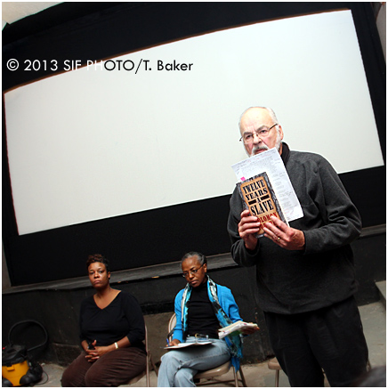 Drs. Kishi Animishaun Ducre, Joan Bryant and Milt Sernett were panelists for the 12 Years A Slave screening/talk back event on Sunday evening.