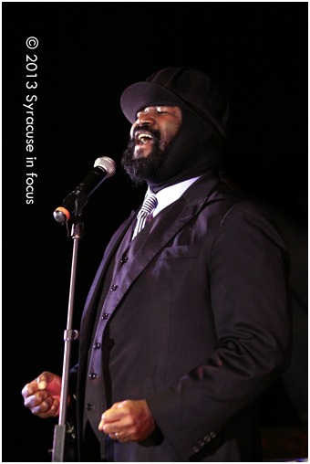 Gregory Porter returned to Syracuse last week.