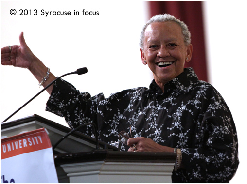Featured speaker for the event: Poet and educator Nikki Giovanni