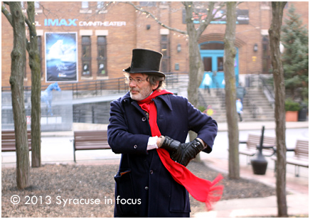 Scott Peal as Abe Walton in Armory Square