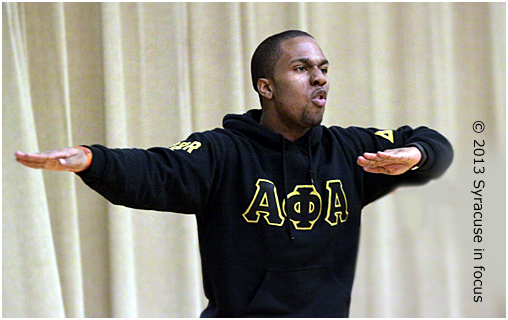 Step Demonstration: Alpha Phi Alpha (MLK Celebration)