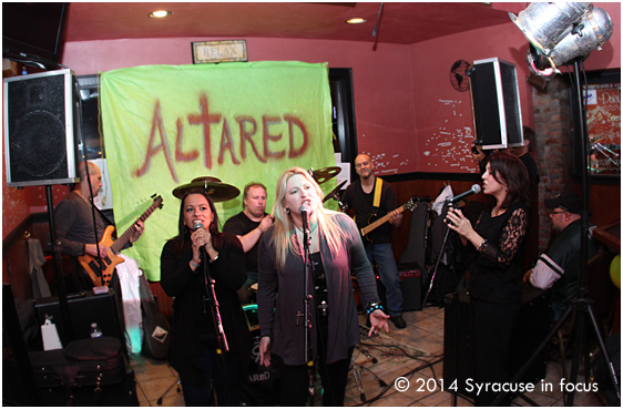 Thanks to the band Altared for showing hospitality to those dining at La Dolce on Friday night. Their new CD is Eclectic Amalgamation.