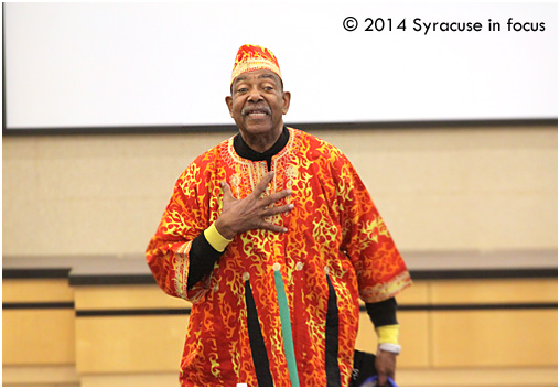 Dr. Baba Chuck Davis, founder of Brooklyn Academy of Music's DanceAfrica
