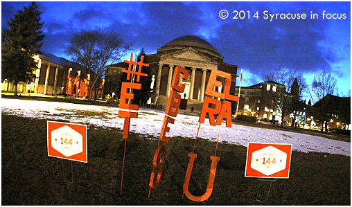 Main Campus, Syracuse University (144th Birthday Celebration)