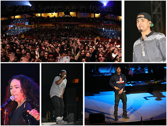 J. Cole, Elle Varner and Bas rocked the Dome on Friday night.