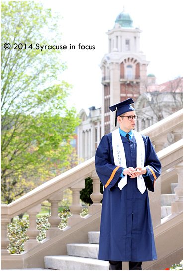 2014 Graduate of Syracuse University (Remembrance Scholar)
