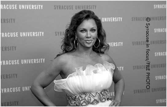 Singer/Actor Vanessa Williams at a fashion show produced by Syracuse Unviersity in NYC (circa 2011)