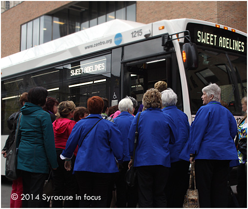 Stylish Songbirds: Sweet Adelines at the Civic Center