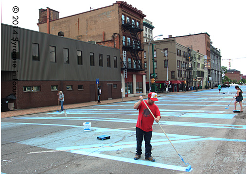Syracuse Public Arts Task Force summer project: ArtErie 3.0