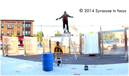 Frackenstein: Taking theater to the streets (and new heights)