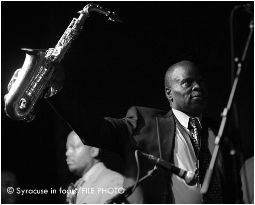 Maceo Parker was a key component in James Brown's rhythm section. He played the Westcott Theater in Syracuse in 2009.