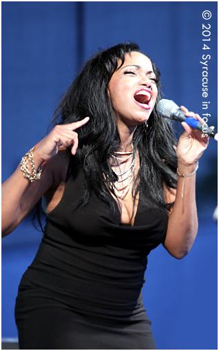 Sherma Andrews, vocalist