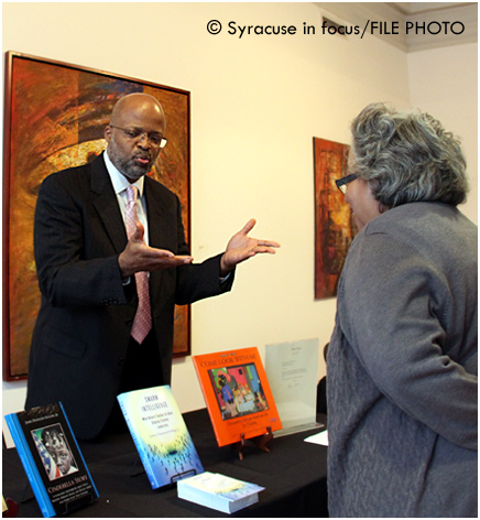 sif-stock-jhr-cfacSU Professor and artist Dr. James Haywood Rolling, Jr. discussed his book at a CFAC event