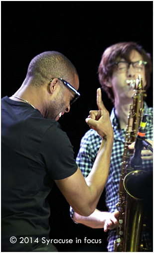 Trombone Shorty: Band leader